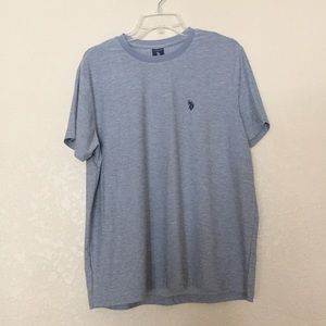 U.S. Polo Assn. Gray Short Sleeve Shirt!